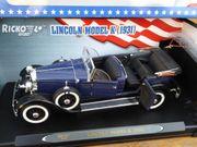 Modellauto 1 18 Lincoln Model