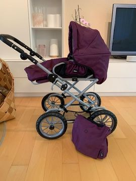 Puppenwagen BRIO Premium Combi violett: Kleinanzeigen aus Nürtingen - Rubrik Puppen
