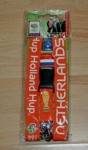 NEU - Schlüssel-Band - Niederlande - für Fußball-Fans -