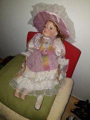 4 alte Antike Porzellan Puppen