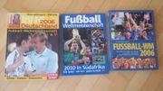 3 Bücher über Füßball