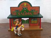 Lucky Luke Saloon Holz Playstoy