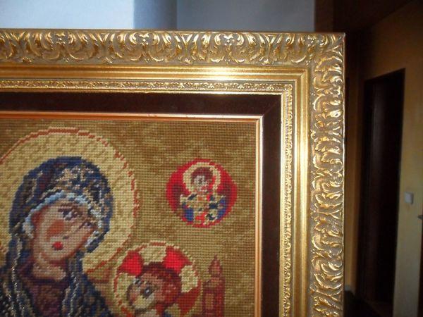 Hochwertiges Gobelinbild mit Barockrahmen