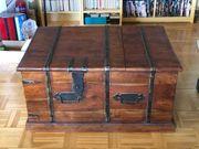 Truhe Aufbewahrungstruhe Box Massivholz