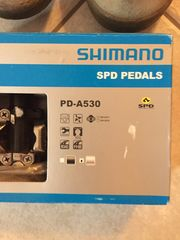 Shimano SPD Pedals -A530 Klickpedale