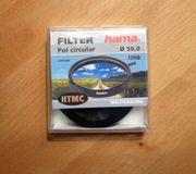 Polarisations-Filter circular 58 0 mm