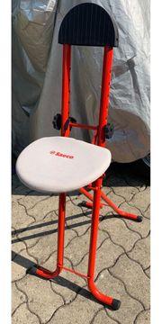 Bügel-Stehhilfe Bügelstuhl Saeco ungebraucht
