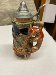 Antiker Trinkkrug Krug mit inkludierter