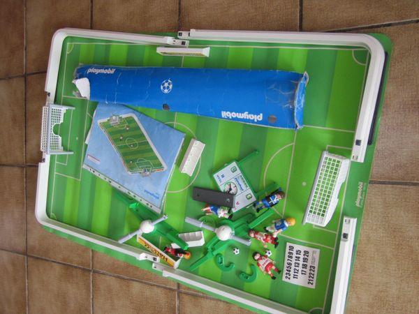 4700 Fußballstadion Playmobil mit Spielfeld