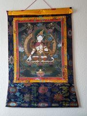Thangka buddhistisches Wandbild