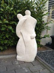 Skulptur Moai Osterinseln Gartenskulptur Moai