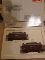 Märklin 46271 Güterwagen-Set PTT Post-Triebwagen