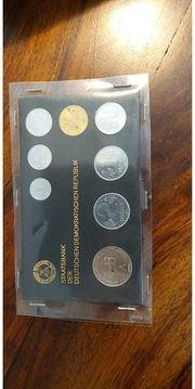 DDR Münzen set