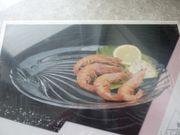 Glasplatte für Fisch