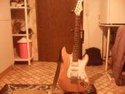verkaufe gebrauchte E-Gitarre Aria -Strat