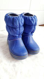 Crocs winterschuhe kinder Größe c12 -