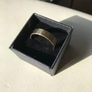Schöner Goldring 585 massiv Gr