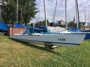 Segelboot für sportliche
