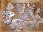 Mineralien und schöne Steine