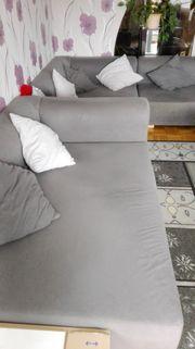 Wohnzimmer Couch 3-teilig verstellbar