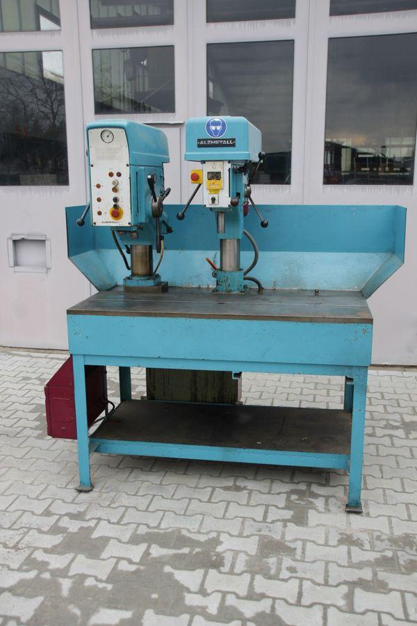 Ständerbohrmaschine Säulenbohrmaschine Alzmetall AB 3