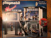 Playmobil Polizei Komandostation 5176 - vollständig