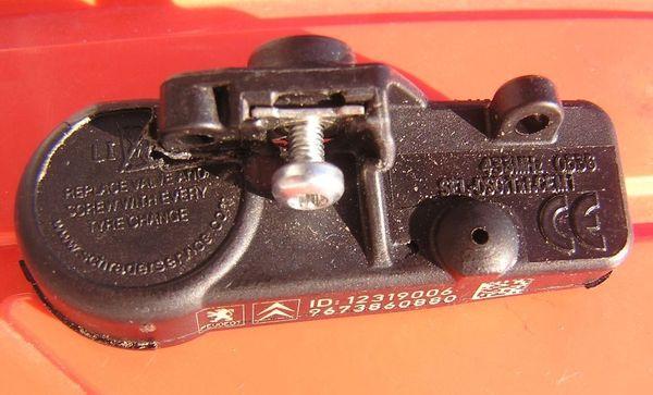 Reifendrucksensor - Schrader 9673860880 Citroen Peugeot