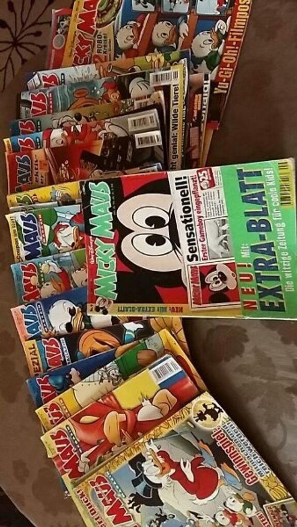 Comics Micky Maus Hefte
