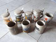 Bierkrüge Steinkrug günstig zu verkaufen