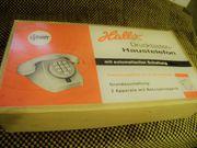 Telefon Drucktastentelefon Rarität aus 60er