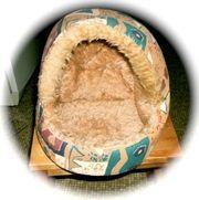 Kuschelhöhle in beige