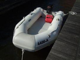 Bayside Schlauchboot mit Mercury 10 PS