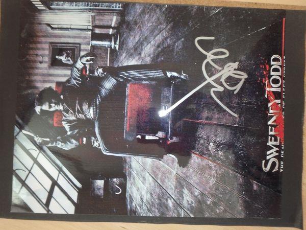 Autogramm von Johnny Depp Original