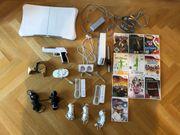 Wii Spielekonsole mit Zubehör