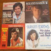 15 Singles Schallplatten
