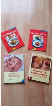 Schwangerschaftsbücher Babymassage Zehn kleine Krabbelfinger