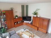 Wohnzimmermöbel Wohnwand über Eck - Front
