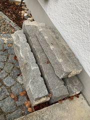 Verkaufe alte Granitbordsteine Gesamtlänge ca