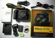 Nikon D750 24 3 MP SLR-Digitalkamera