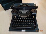 Schreibmaschine Mercedes Prima