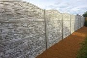 Betonzäune Kunstschmiede Bau Haus Garten