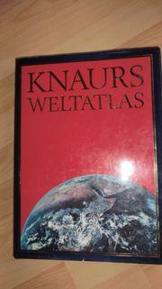 älteren Knaurs Weltatlas - Großformat