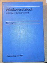 Arbeitsgesetzbuch und andere Rechtsvorschriften Textausgabe
