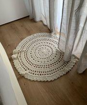 Strick-Teppich 90cm