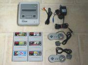 Super Nintendo mit Spiele