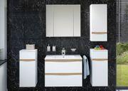 Badezimmer-Set 5-teilig mit Waschbecken Candy V5S-01