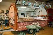 Ausschankwagen Bierwagen Bier Verkaufsanhänger Foodtruck