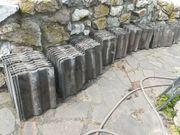 Dachziegel Frankfurter Pfanne schwarz gebraucht