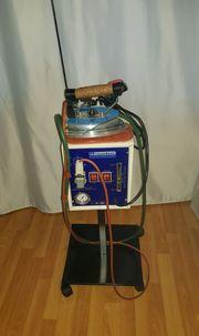Bügelstation Professionell - Dampferzeuger mit Bügeleisen -