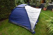Campingzelt Kuppelzelt mit Vorbau für